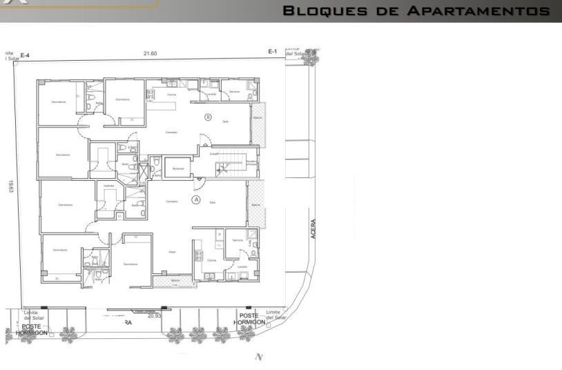 6 de 13: Bloques de Apartamentos