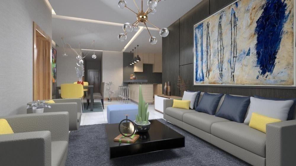 3 de 13: Vista interior 3 Habitaciones (2B,3B,4B)