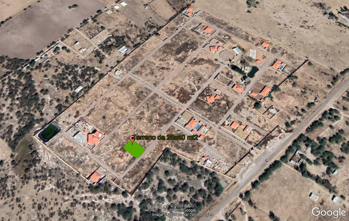 13 de 15: vista del área del terreno