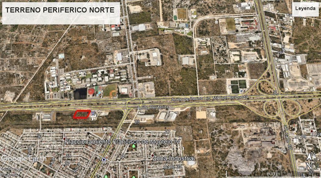 4 de 12: Terreno Venta Periférico Norte  Mérida, Yuc. Chichen  Realty