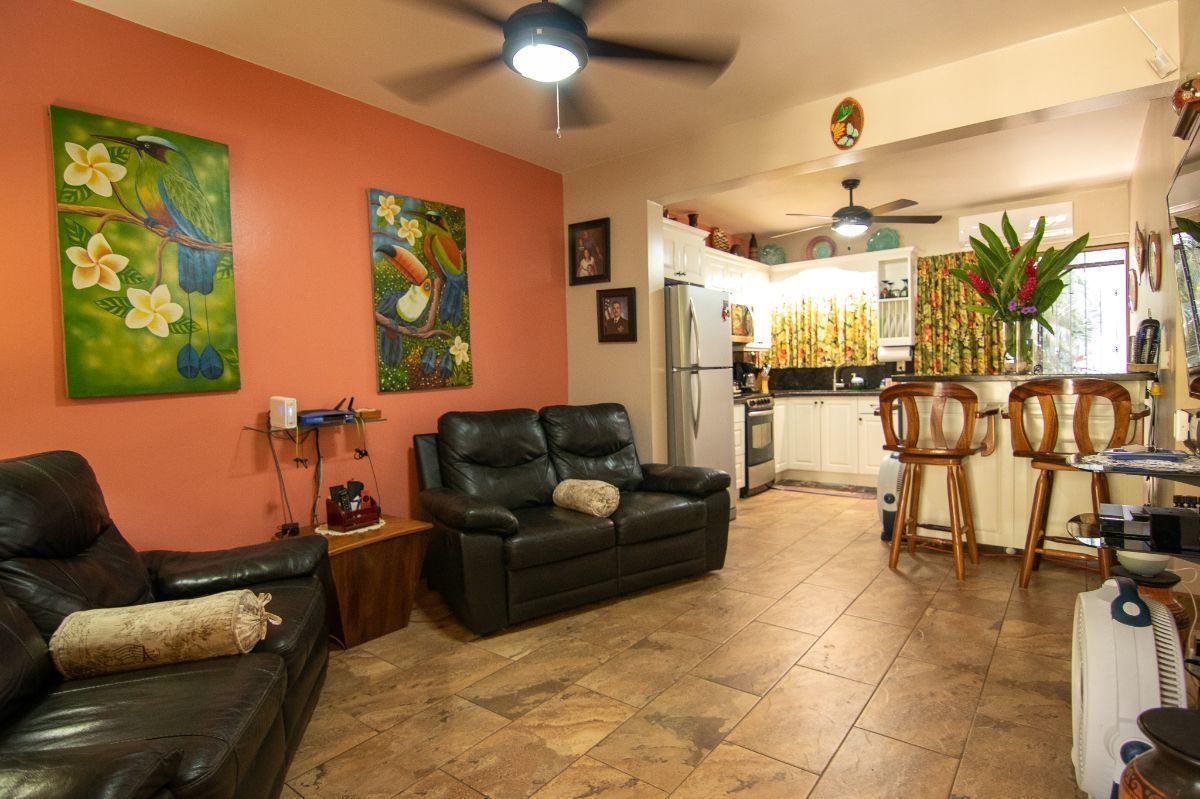 5 of 16: Remodeled living room