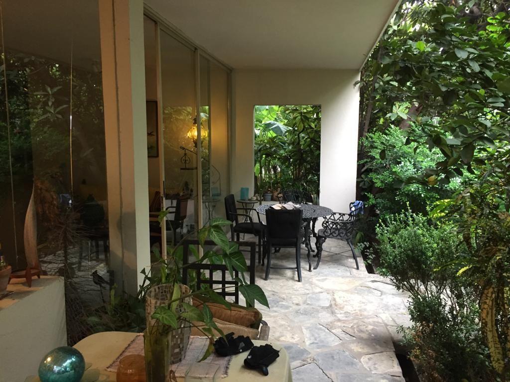 11 de 16: Terraza inetrior a jardín