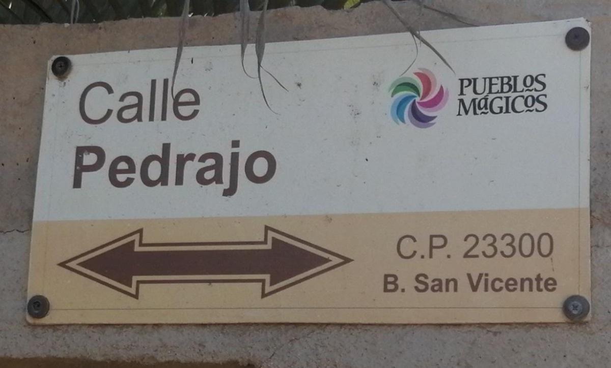 5 de 17: nomenclatura Pueblo Magico Todos Santos