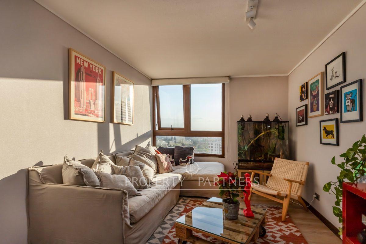 12 de 19: Sala de estar que puede convertirse en dormitorio