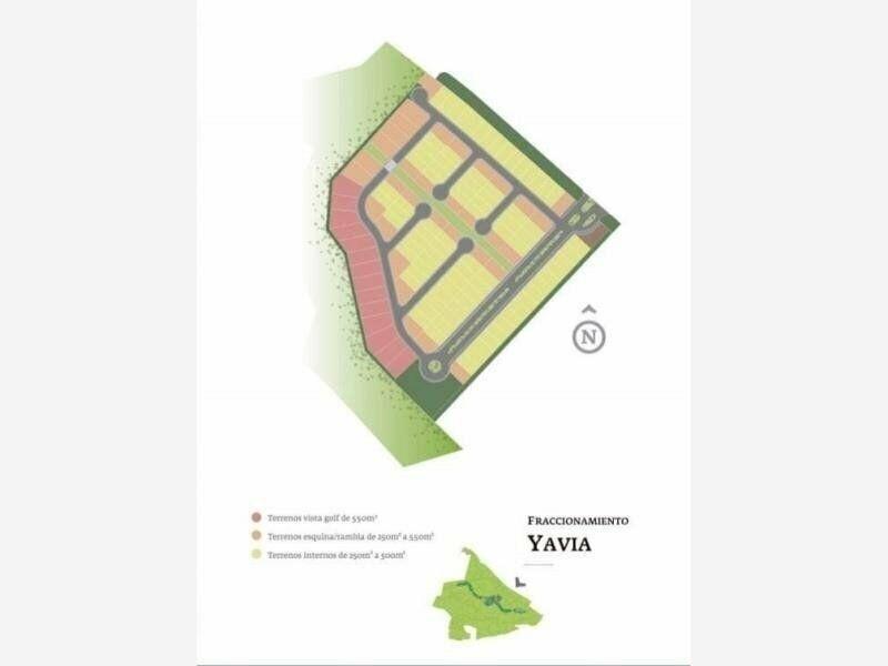 3 de 9: Plano del Fraccionamiento Yavia