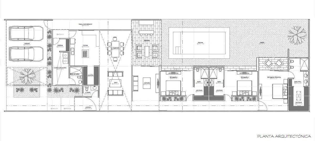 26 de 26: Planta Arquitectónica