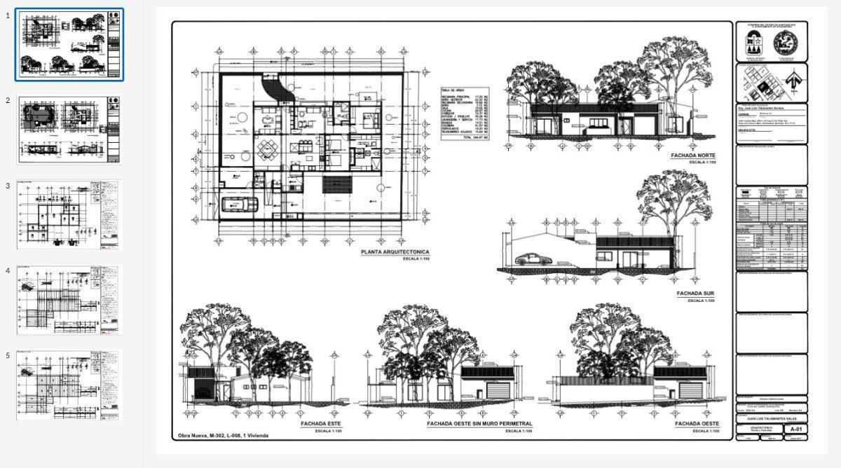 6 de 24: planos arquitectonicos