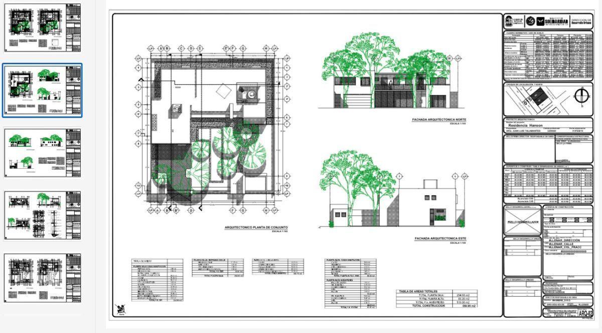 6 de 6: plano arquitectonico