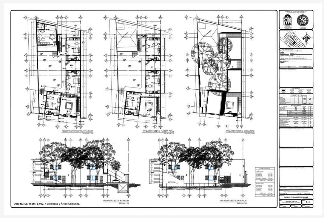 1 de 5: planos de el primer proycto