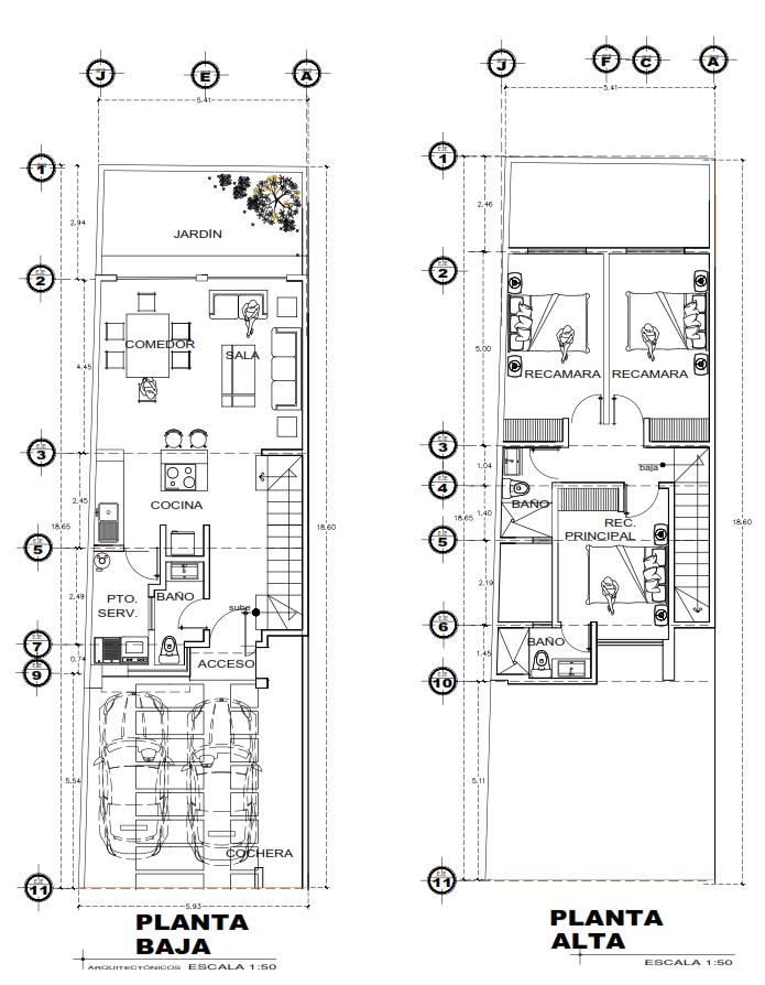 16 de 16: Plano arquitectónico