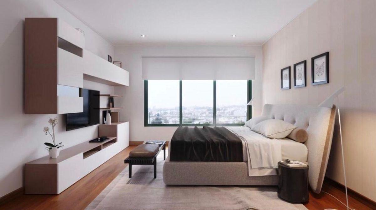 4 de 7: Dormitorio principal con ventas antiruidos.