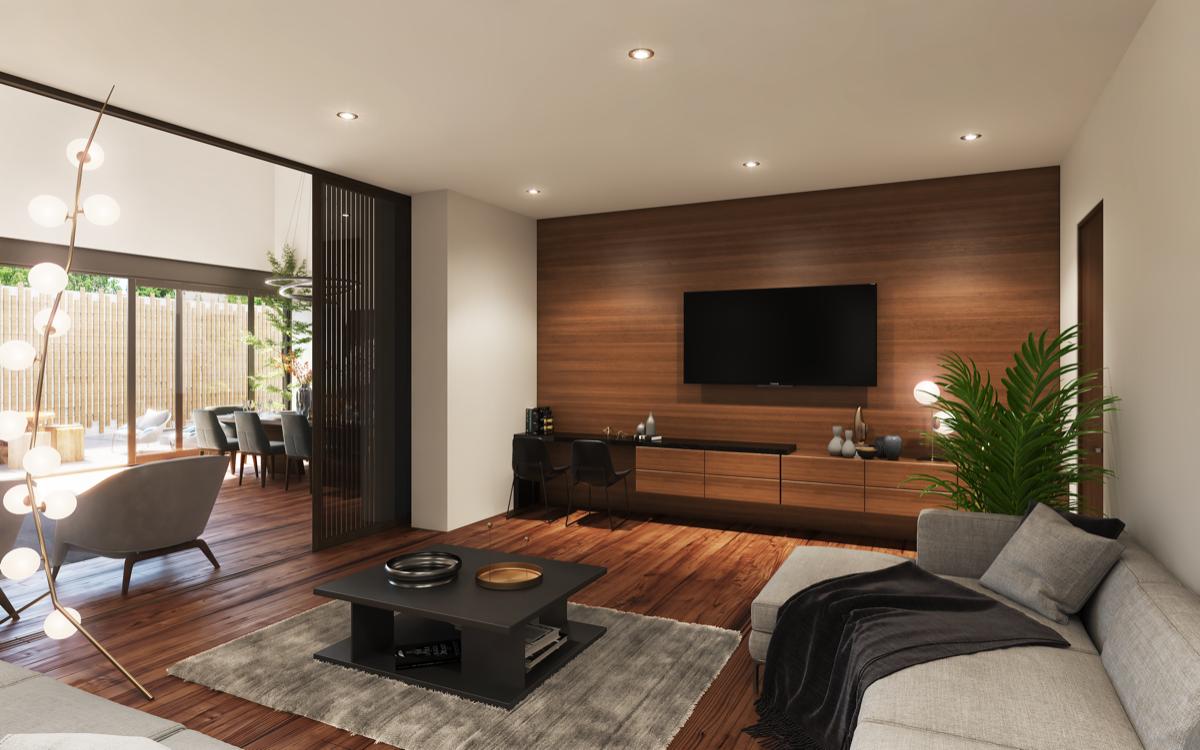 3 de 8: Family Room o sala TV (imagen ilustrativa)