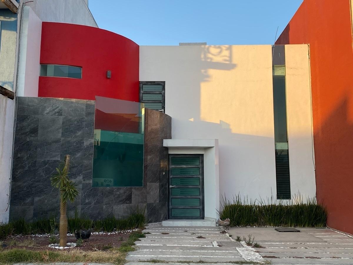 1 de 22: Renta Casa en La Moraleja Pachuca - frente áreas verdes