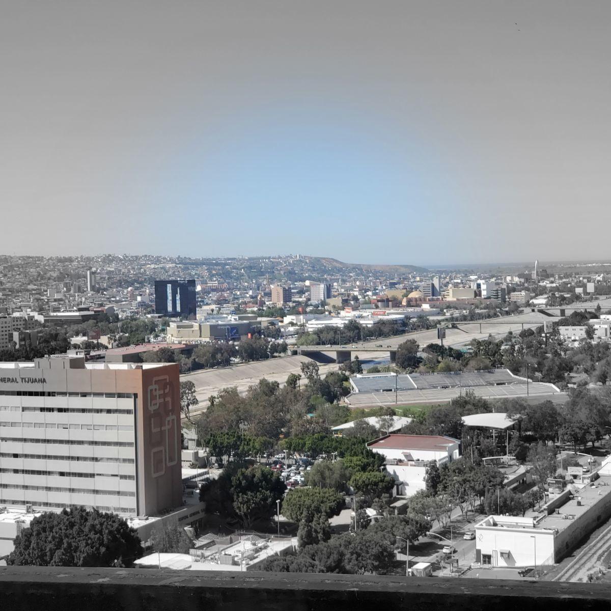41 de 45: Vista Zona Urb. Río Tijuana