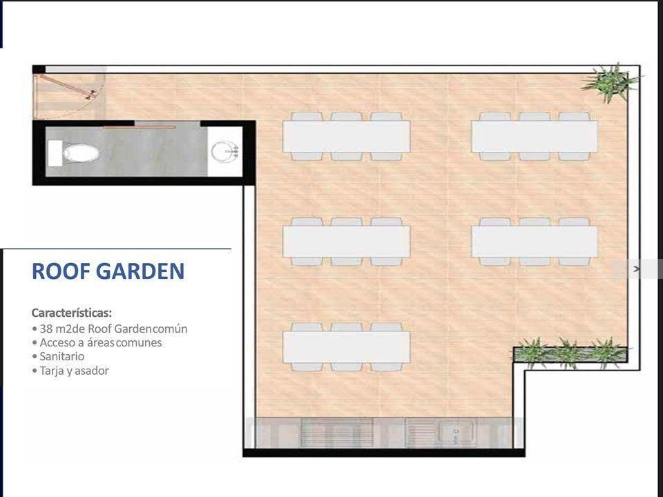 6 de 6: Distribución Roof Garden