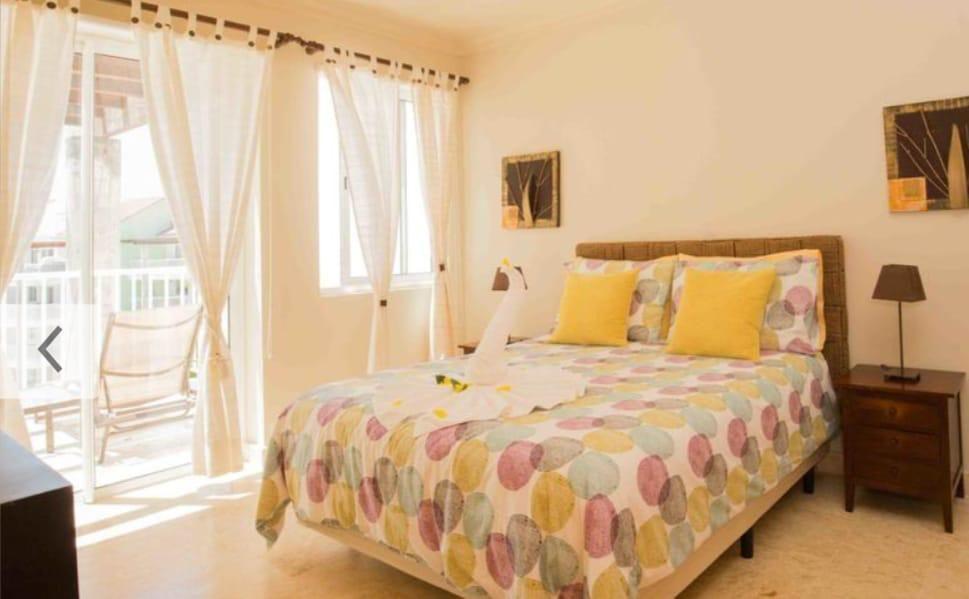 25 de 26: Playa turquesa 1 dormitorio vista al mar