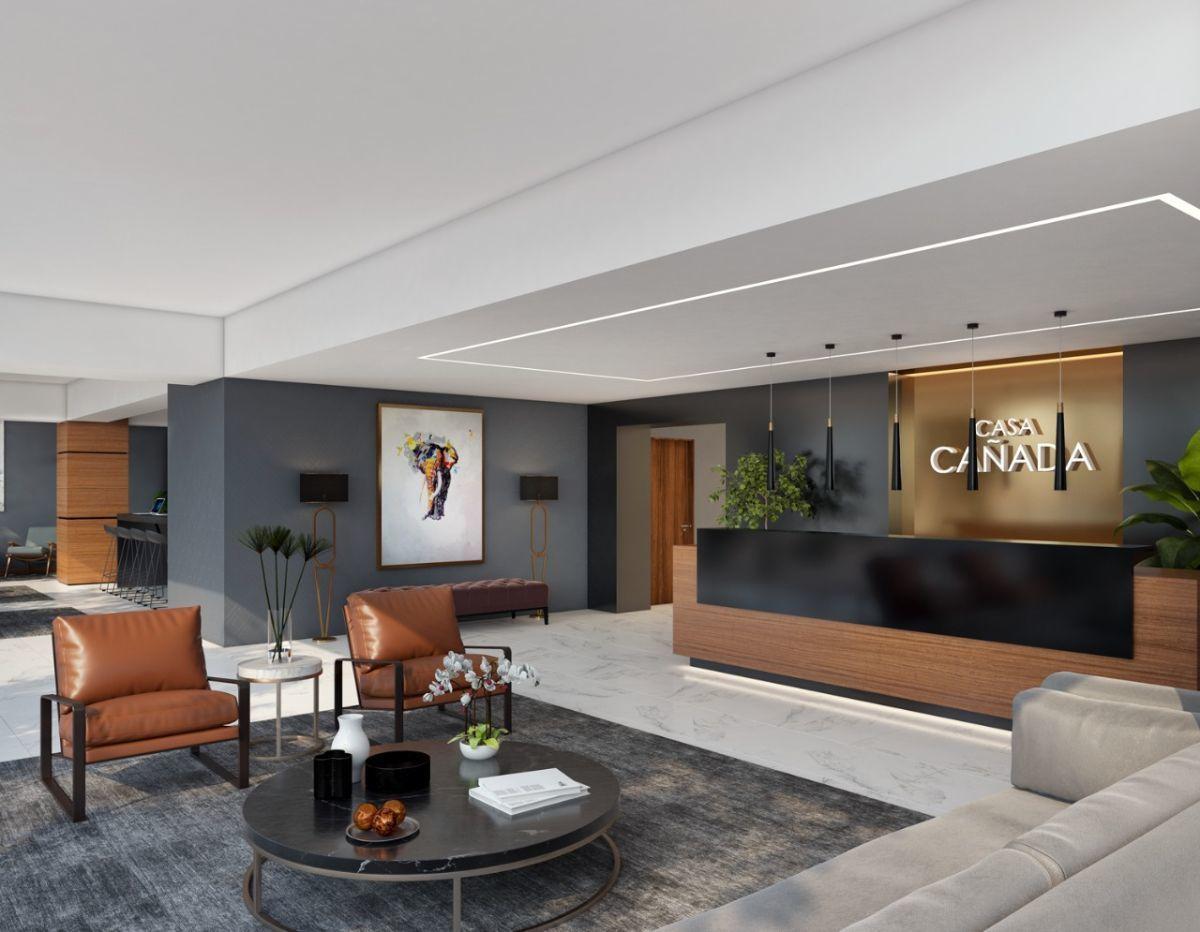 7 de 16: Lobby decorado por diseñador