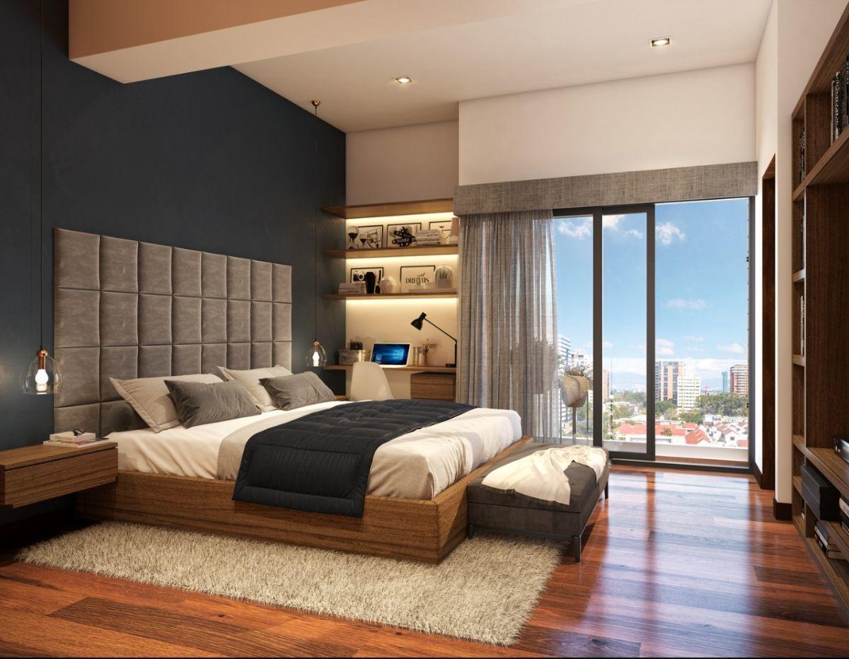 3 de 16: Dormitorios con balcon de vidrio templado
