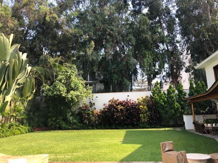 1 de 12: Hermoso Jardín, gran terraza y piscina con vista Boulevard