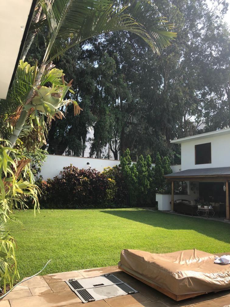 7 de 12: Hermoso Jardín, gran terraza y piscina con vista Boulevard