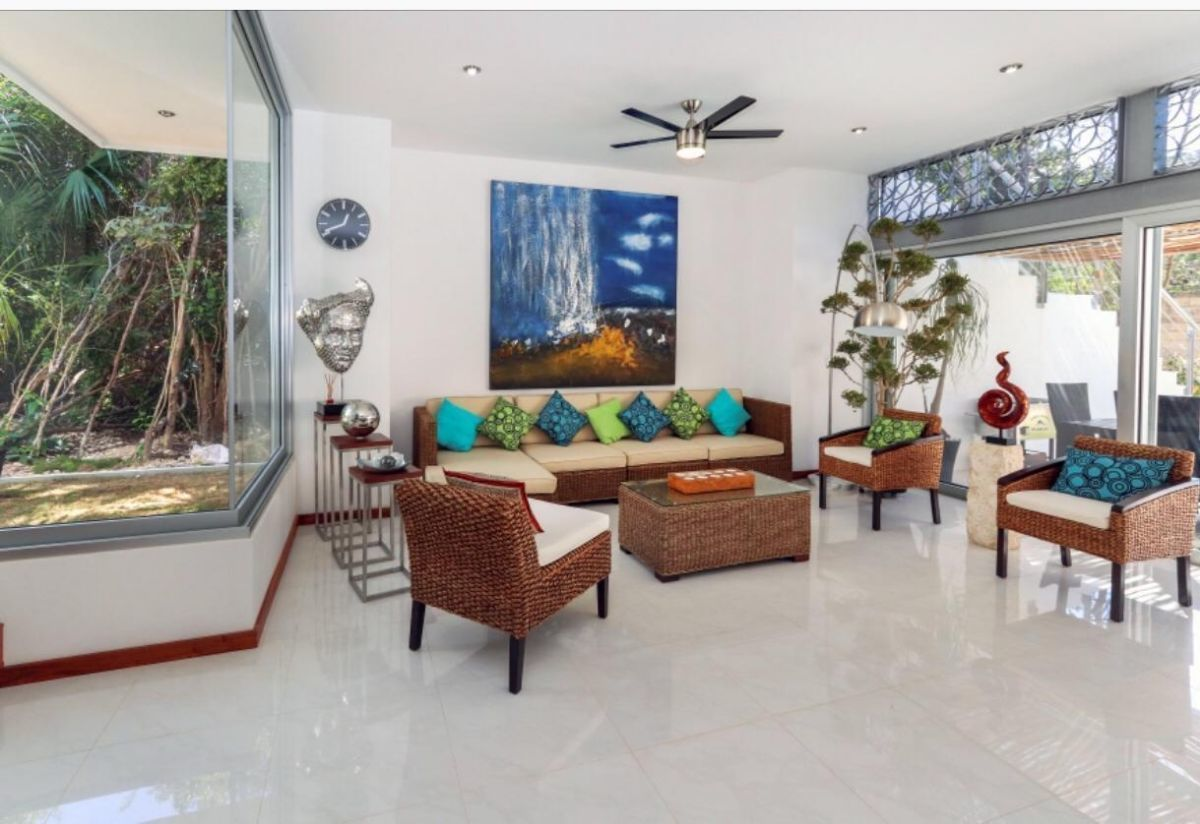 10 de 31: LUXURY-HOME-FOR-SALE-BEACH-COMMUNITY-PLAYA-DEL-CARMEN-MEXICO