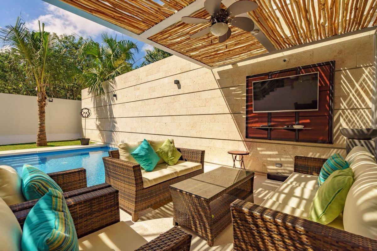4 de 31: LUXURY-HOME-FOR-SALE-BEACH-COMMUNITY-PLAYA-DEL-CARMEN-MEXICO