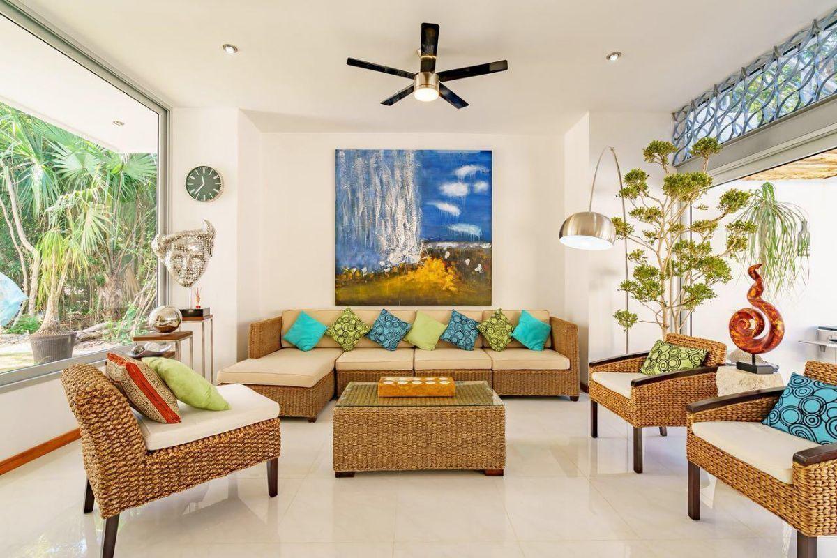 14 de 31: LUXURY-HOME-FOR-SALE-BEACH-COMMUNITY-PLAYA-DEL-CARMEN-MEXICO