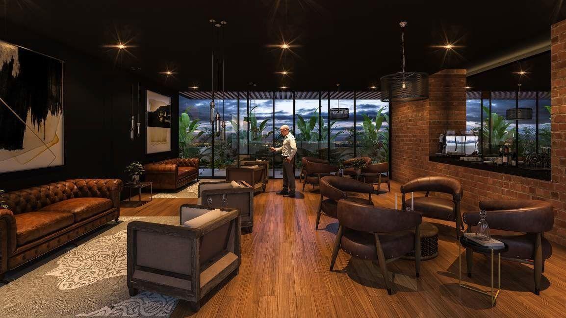 13 de 18: Sala Lounge