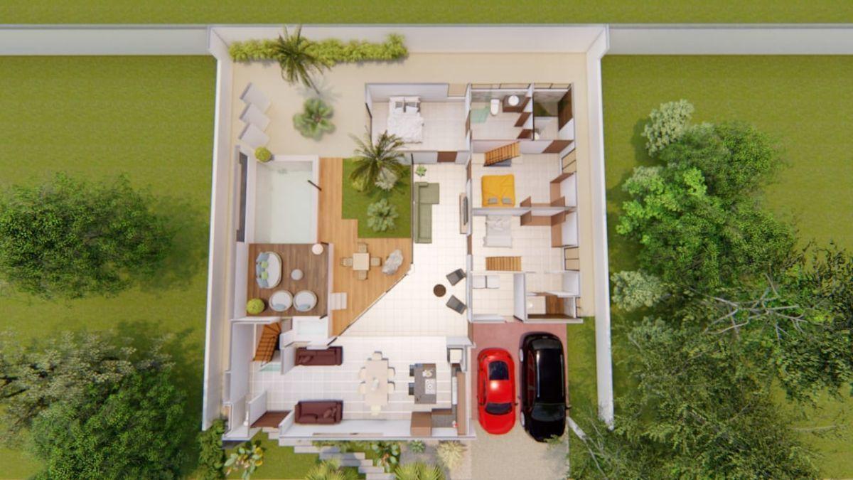 7 de 9: Casa de una planta en venta en Yucatán  Country Club