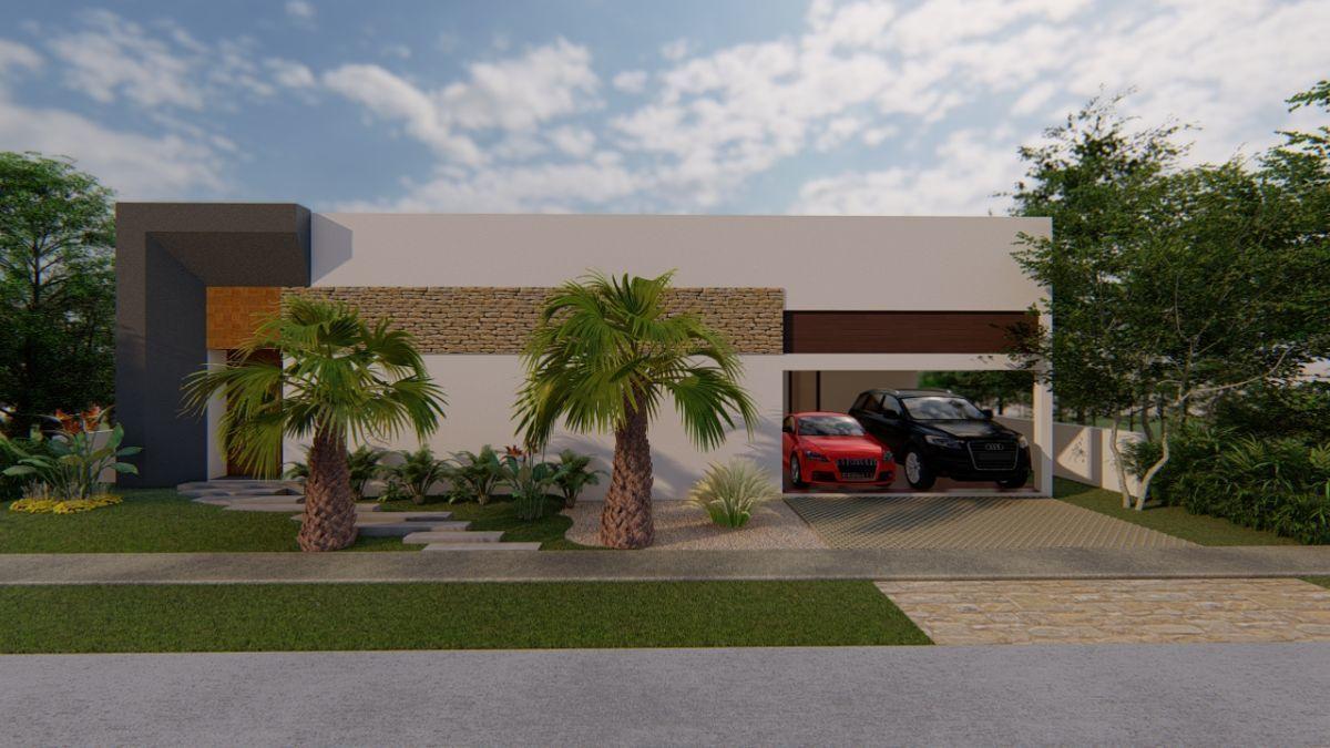 8 de 9: Casa de una planta en venta enYucatán Country Club Priva