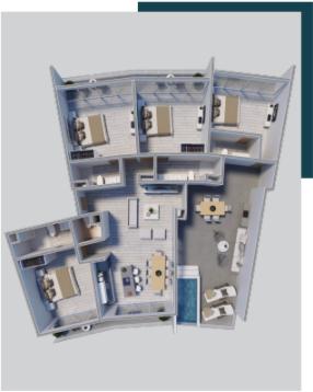 22 de 23: Pent Houses 4 habitaciones