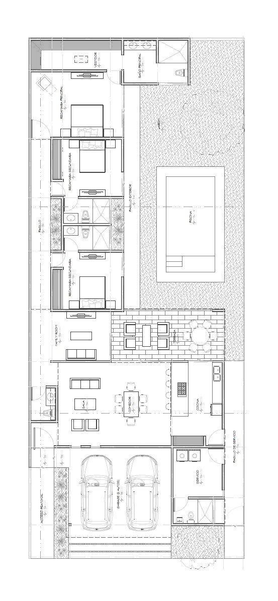 4 de 4: Plano Arquitectónico