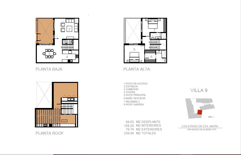 16 of 16: Plano Villa 9
