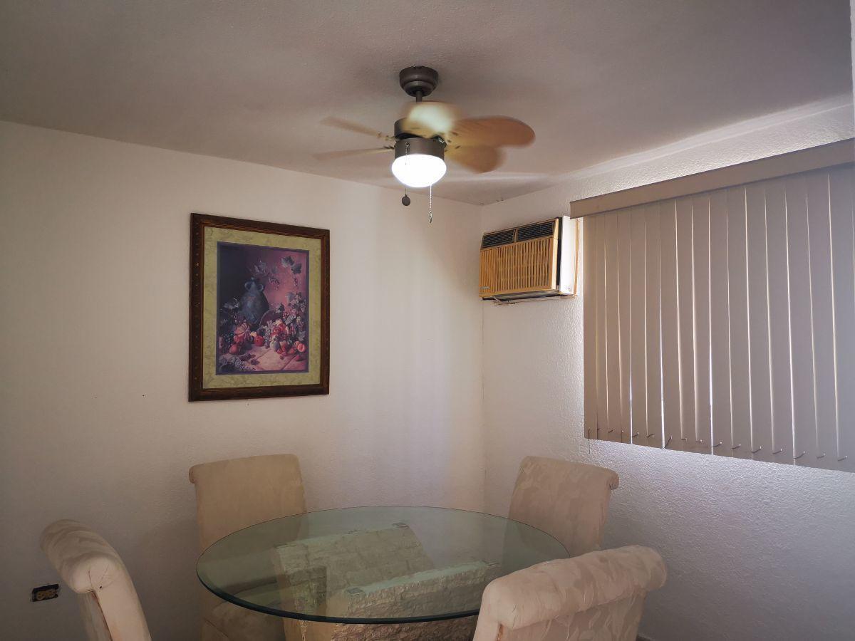 3 de 19: area comedor, incluye aire, abanico y persiana