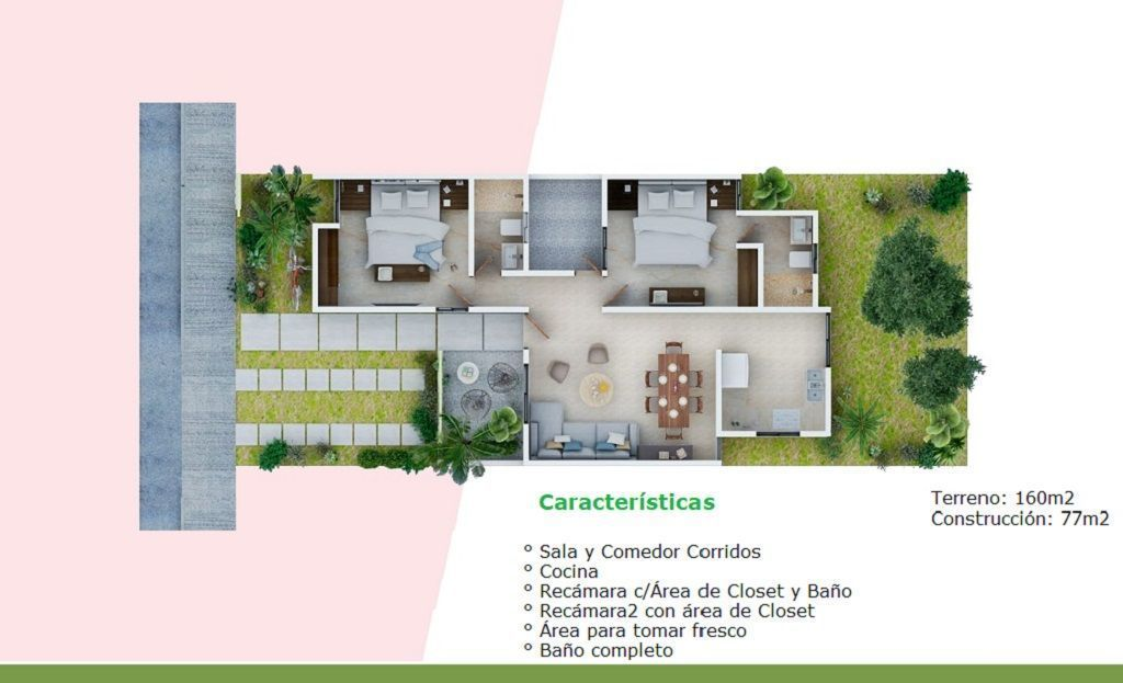 10 de 10: Mod 77 m²