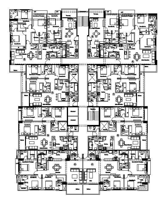 2 de 2: Planta Arquitectonica