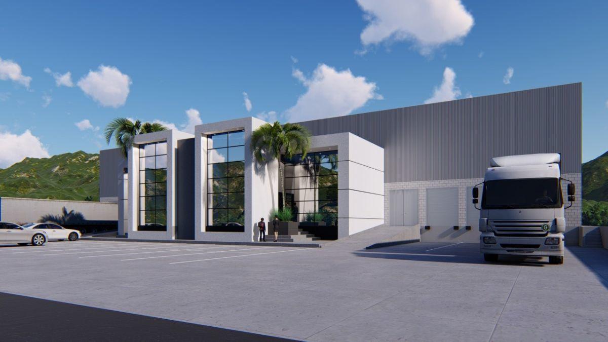 2 de 4: Dos módulos de oficinas doble altura