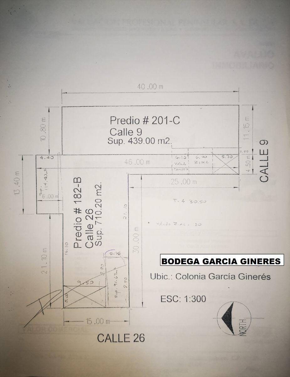 3 de 37: PLANTA Y CROQUIS DE BODEGA GARCIA GINERES