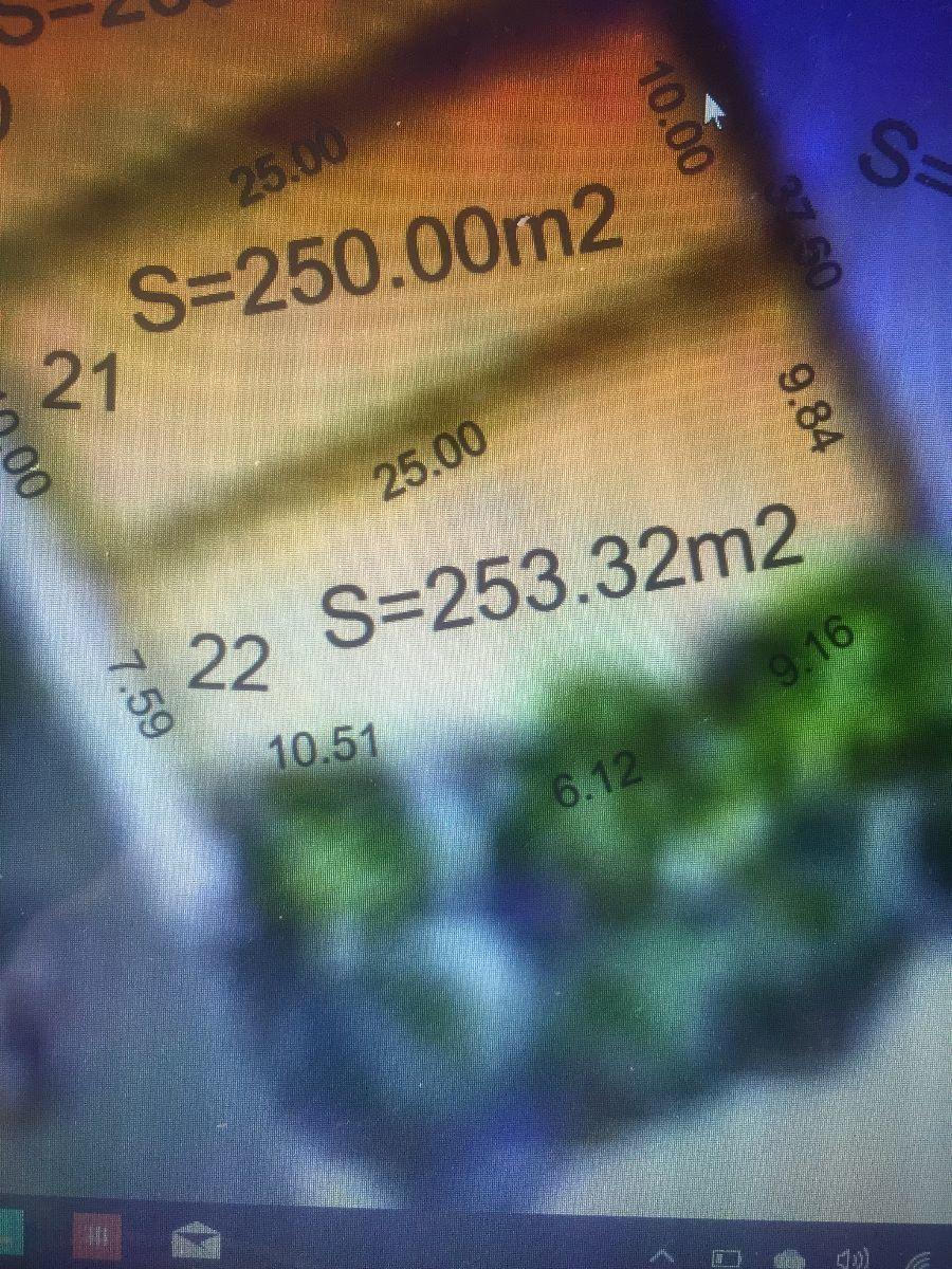 7 de 7: poligonal lote 22