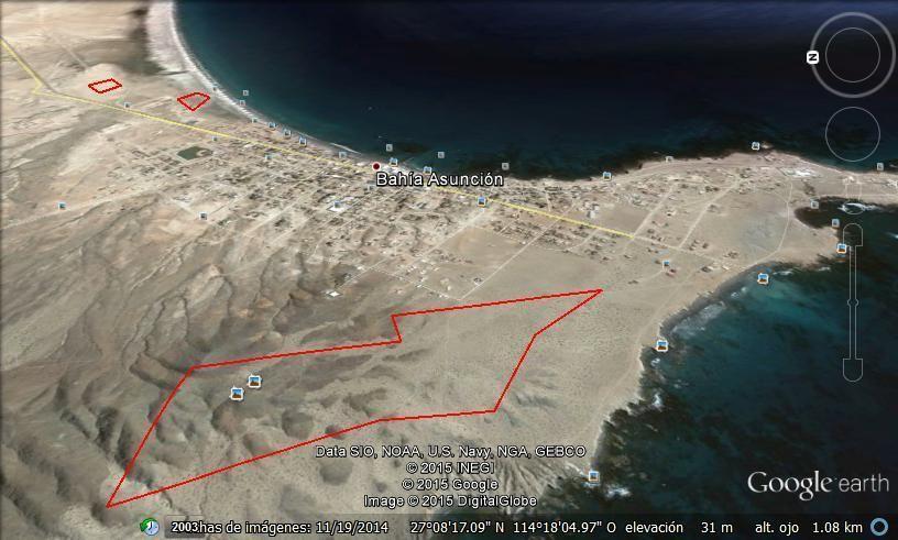 1 de 2: Vista aérea de Norte a Sur