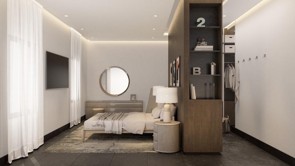 5 de 12: Habitación Principal con Vestidor