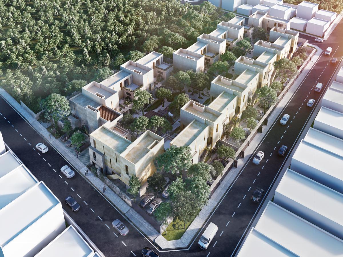 4 de 7: Vista aerea del residencial