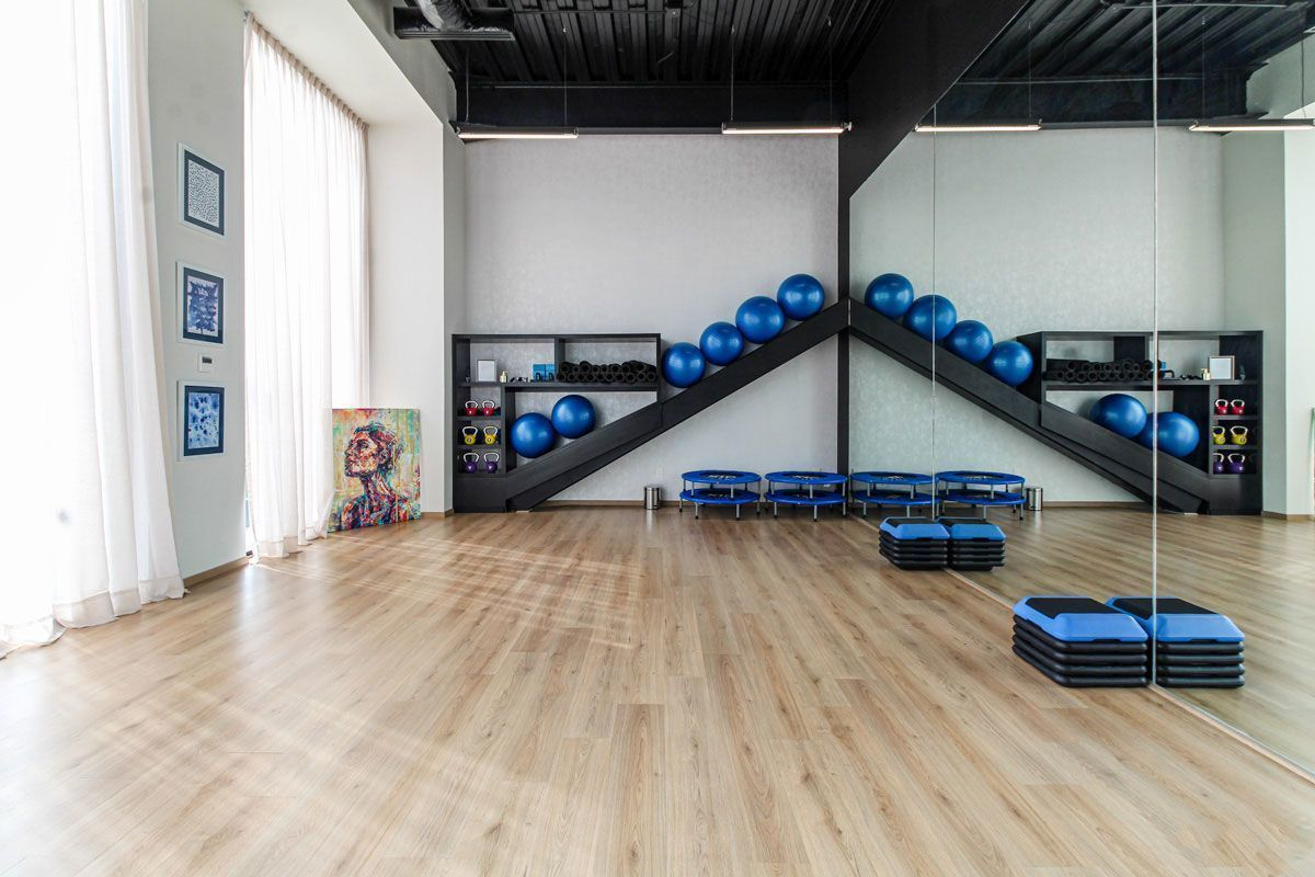 8 de 24: Salón para yoga y pilates