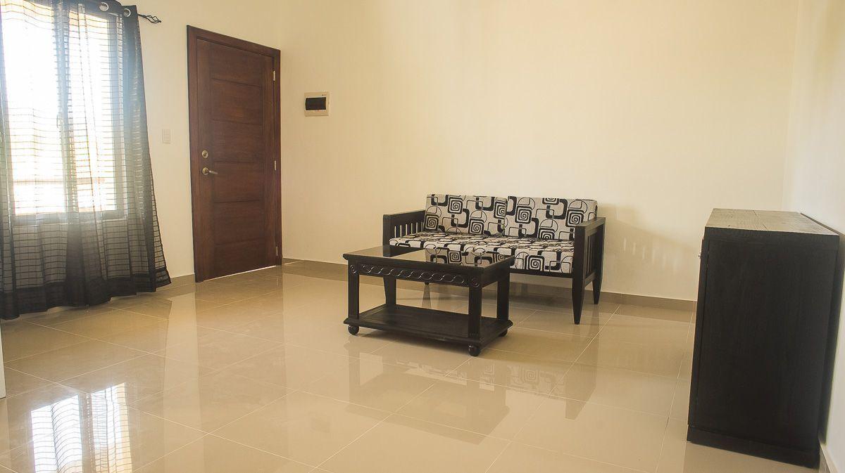 10 de 21: Sala del apartamento  Living room