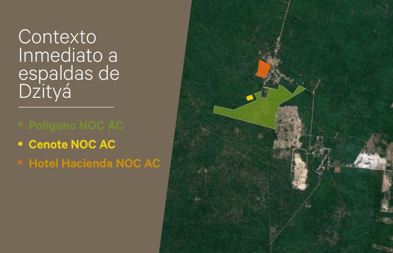 3 de 7: Terreno en venta de 50 Hectáreas en NOC AC , Yucatán.