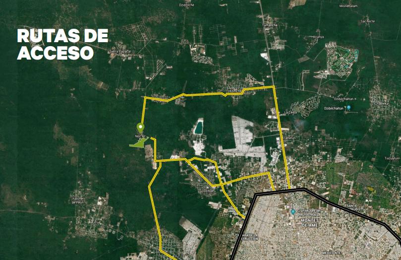 4 de 7: Terreno en venta de 50 Hectáreas en NOC AC , Yucatán.
