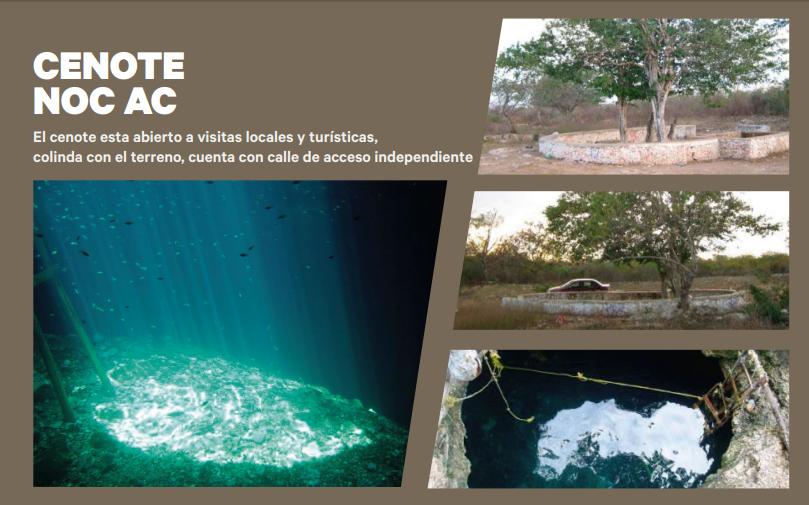 6 de 7: Terreno en venta de 50 Hectáreas en NOC AC , Yucatán.