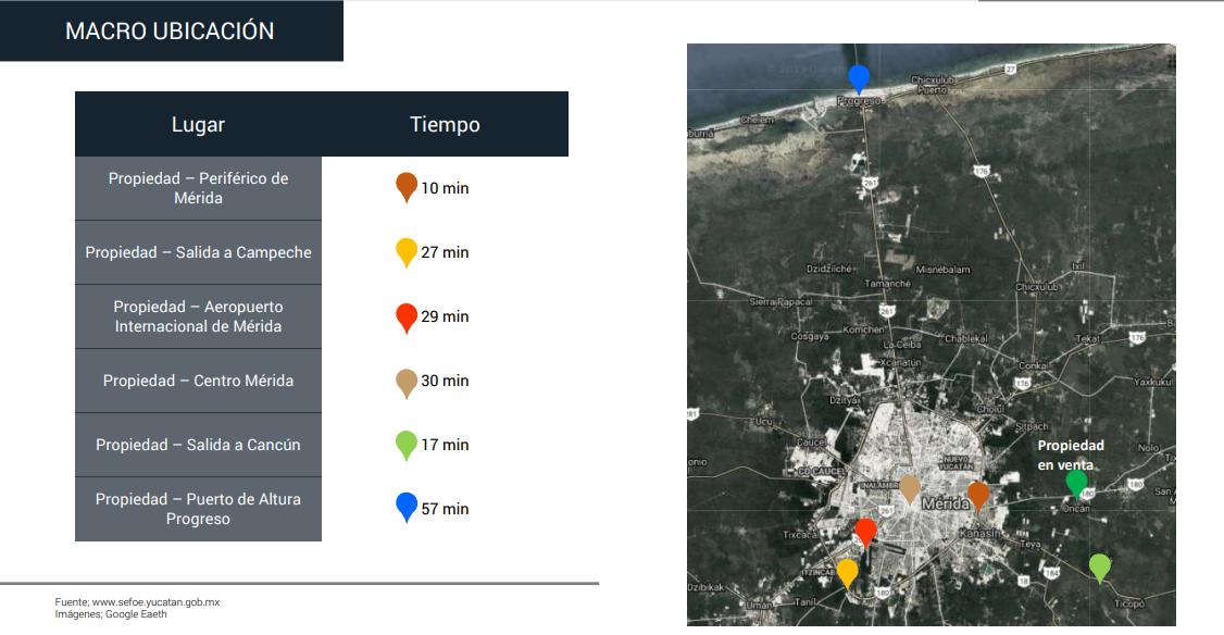 3 de 7: Terreno en Venta en Oncán, Yucatán.