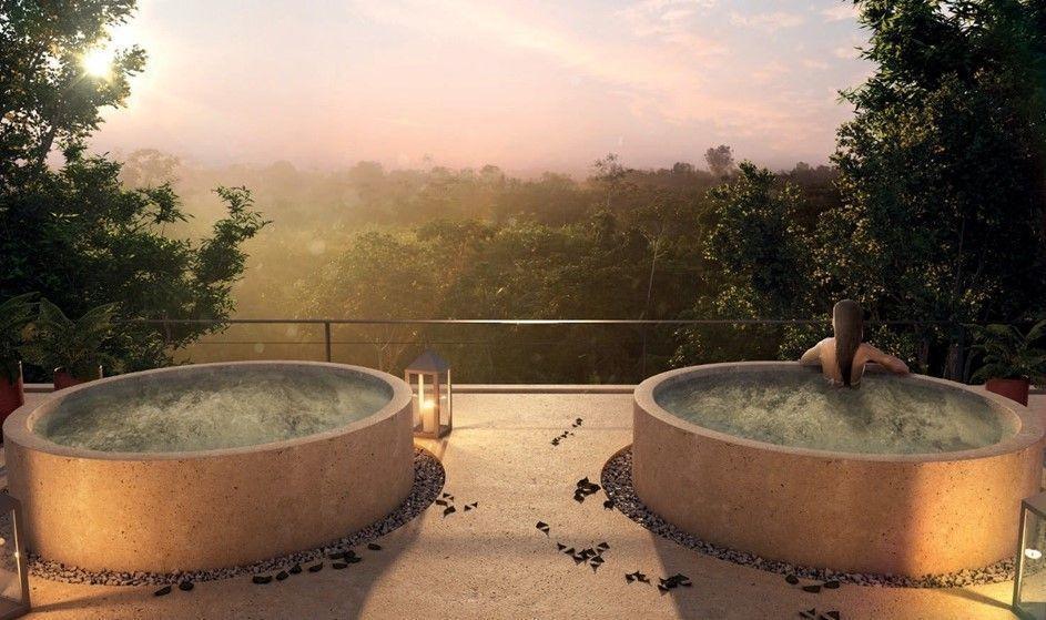 1 de 11: Rooftop vista a la selva