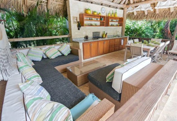 6 de 19:  Villa en cocotal 4 dormitorios renta Vacacional